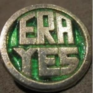 ERA YES antique button