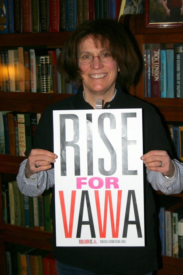 Rising in Celebration of the Passage of VAWA