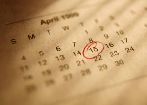 April 15 is Tax Day