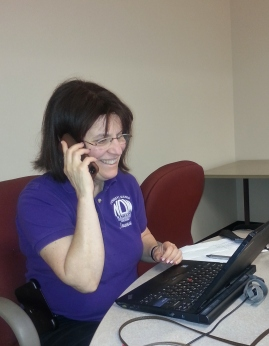Joanne Phone Banking for Marriage Equality