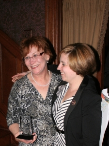 Picture of Jeanne Clark and Rep. Erin Molchany