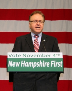picture of NH Democratic Party Chair Raymond Buckley