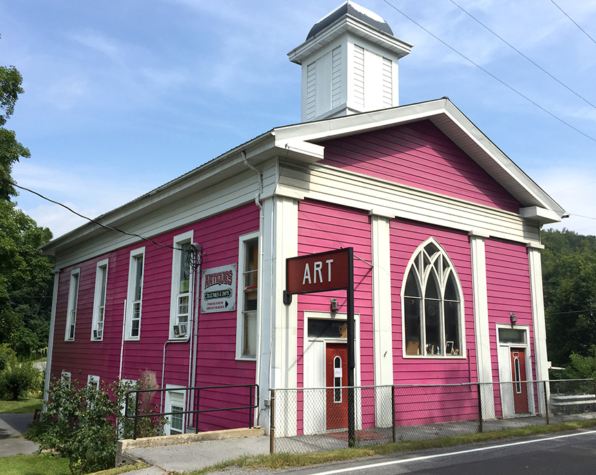 picture of Mary's Pink Art Church