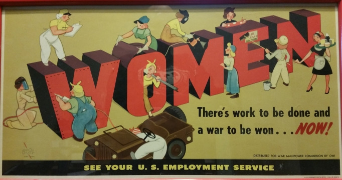 Women A War to Be Won 1945 poster by Vernon Grant