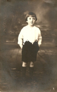 Picture of Louis P. Tosti as a toddler