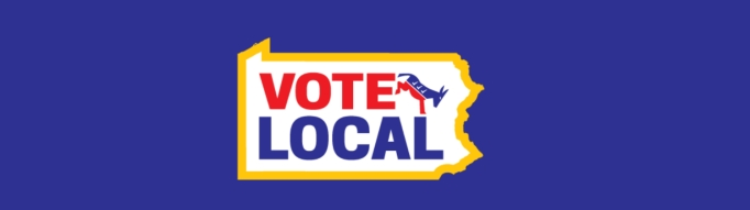 Vote Local PA logo