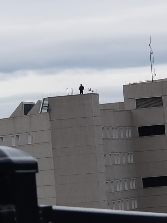Roof-top surveillance.