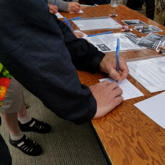 Activists sending out messages to their federal legislators calling for immediate efforts to end family separations of immigrants.